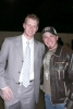 Jason Michael Carroll caught a picture with NHL's Eric Staal of the Carolina Hurricanes.