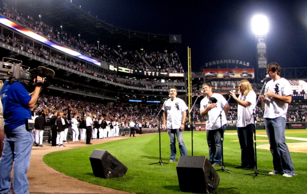 TelluRide Performs For Sold-Out White Sox Crowd In Chicago