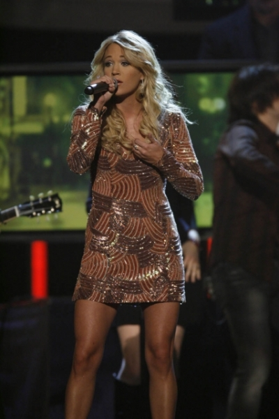 Carrie Underwood at 41st Annual CMA Awards