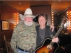 Recent Grand Ole Opry inductees, Charlie Daniels and Craig Morgan, pose backstage at the Grand Ole Opry.
