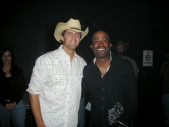 Rising Country star Dean Brody makes his debut at the Grand Ole Opry and talked backstage with Darius Rucker